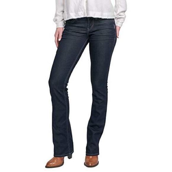 """Silver Suki 17"""" Bootcut Jeans"""
